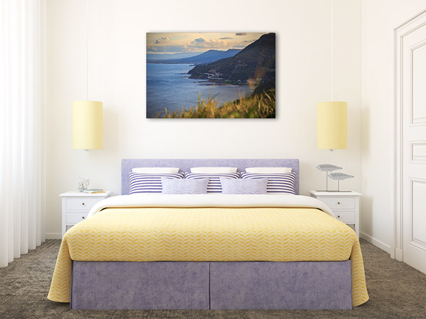 Bald Hill Lookout Wall Print NSW Canvas Photo