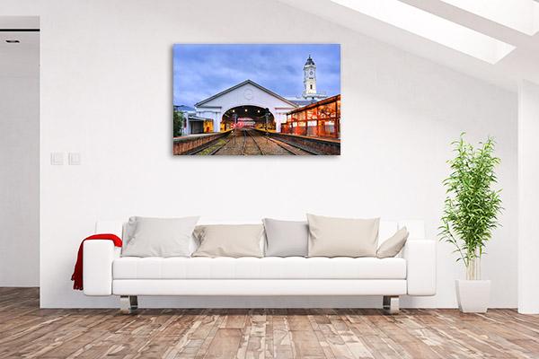 Ballarat Canvas Print Train Station Wall Art