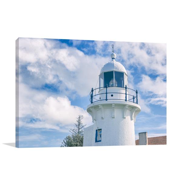 Ballina Lighthouse Canvas Art Prints