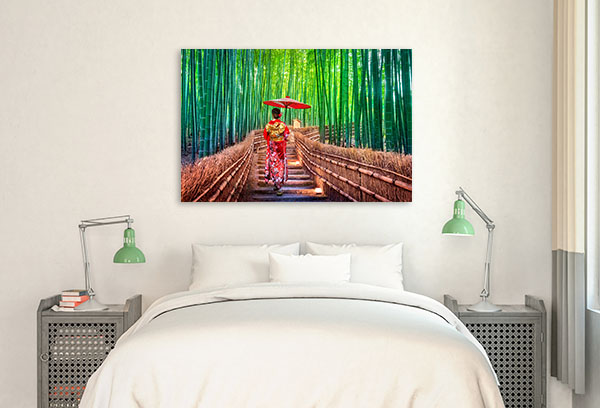 Bamboo Forest Canvas Photo Print