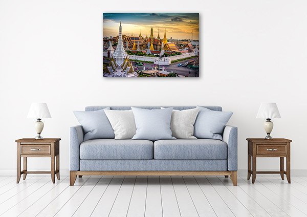 Bangkok Art Print Grand Palace Wall Picture