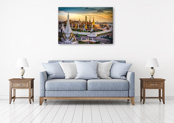Bangkok Art Print Grand Palace Wall Picture