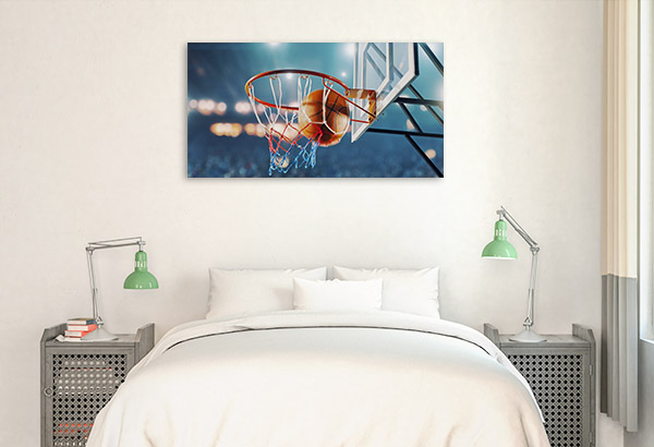 Basketball Hoop Art Photo