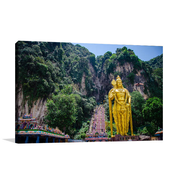 Batu Caves Canvas Prints