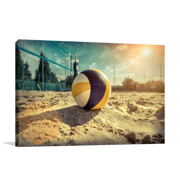 Beach Volleyball Picture Artwork