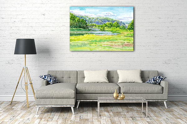 Beautiful Day Canvas Prints