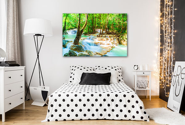 Beautiful Erawan Waterfall Canvas Prints