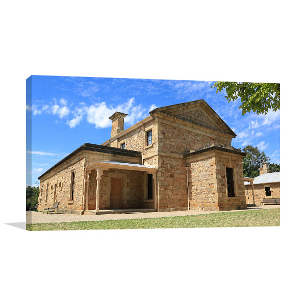 Beechworth VIC Art Print Courthouse Artwork Photo