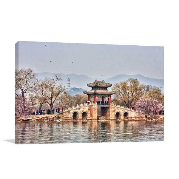 Beijing Art Print Spring Summer Palace Artwork Picture