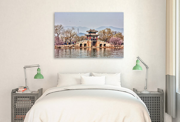 Beijing Art Print Spring Summer Palace Wall Canvas