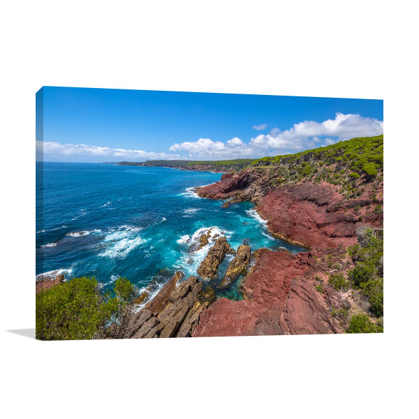 Ben Boyds National Park Wall Print Red Point Picture Art