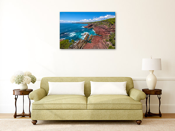 Ben Boyds National Park Wall Print Red Point Art Picture