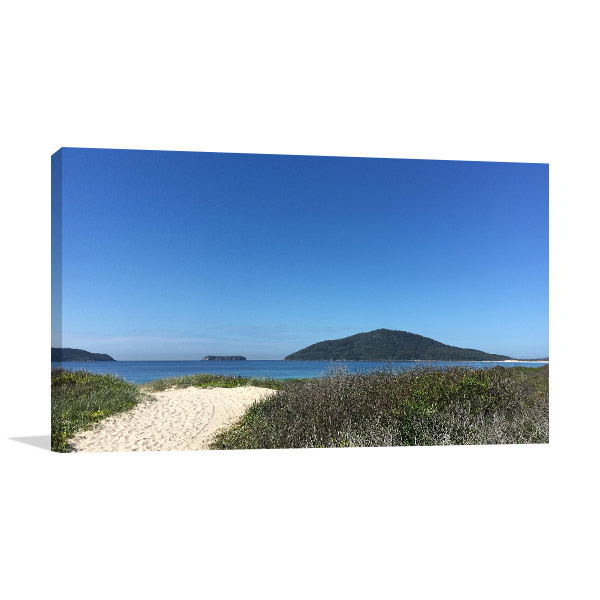 Bennetts Beach Art Print Hawks Nest Photo Wall