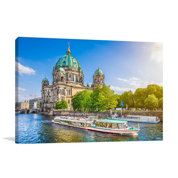 Berlin Art Print Cathedral Wall Artwork