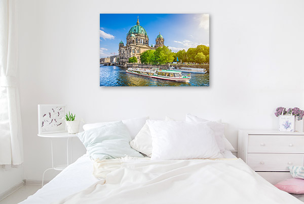 Berlin Art Print Cathedral Wall Canvas