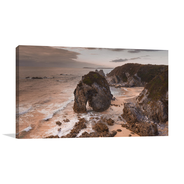 Bermagui Wall Print NSW Horsehead Rock Artwork Canvas