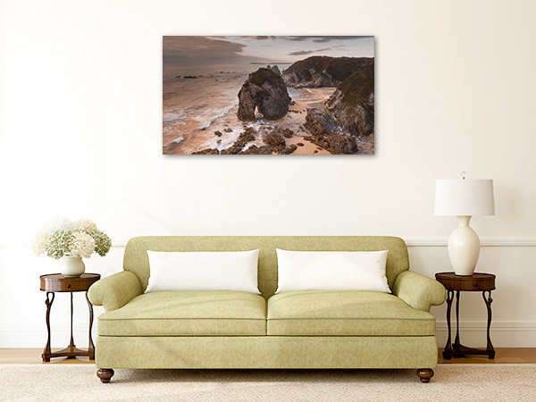 Bermagui Wall Print NSW Horsehead Rock Picture Canvas