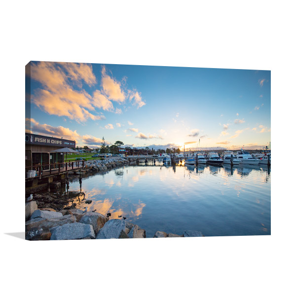 Bermagui Wharf Art Print NSW Bega Shire Wall Artwork
