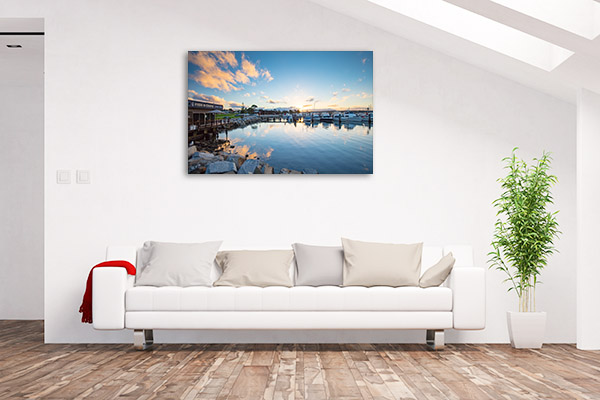 Bermagui Wharf Art Print NSW Bega Shire Wall Canvas