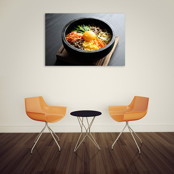 Bibimbap Prints Canvas Photo