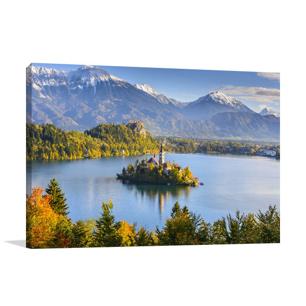 Bled Island Canvas Prints