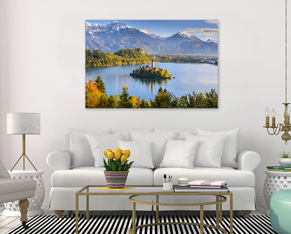 Bled Island Canvas Art
