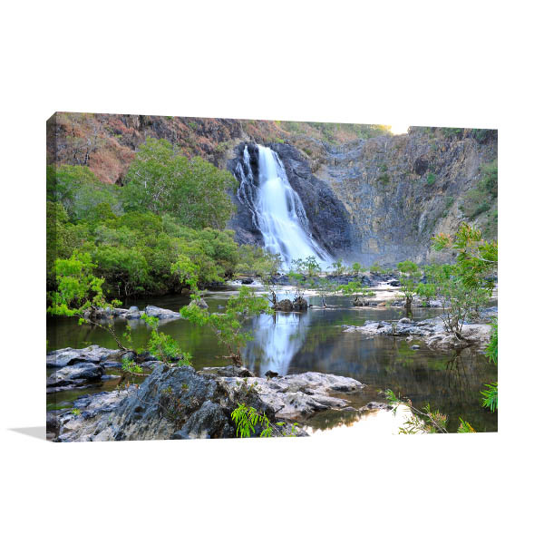 Bloomfield Waterfall Canvas Photo Print
