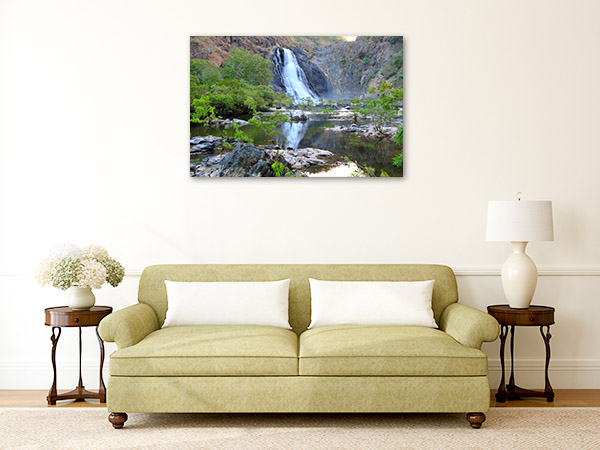 Bloomfield Waterfall Canvas Wall Art