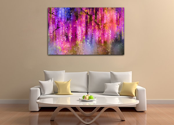 Bloosom Bokeh Wall Art