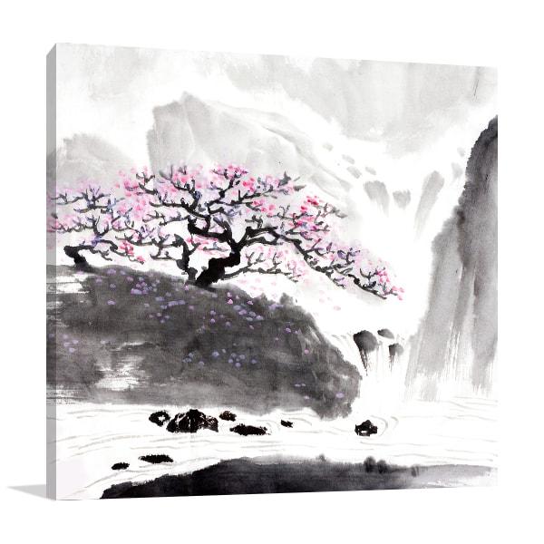 Blossom Tree Canvas Prints