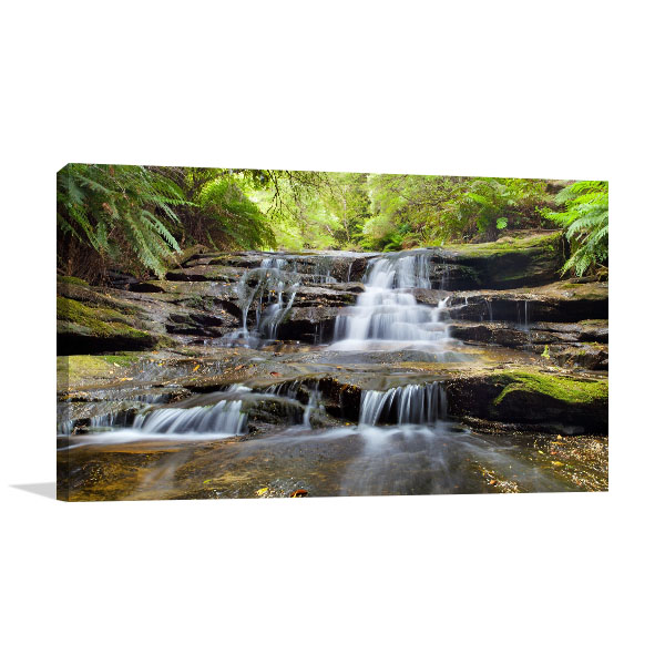 Blue Mountains Art Print Leura Cascades Wall Artwork