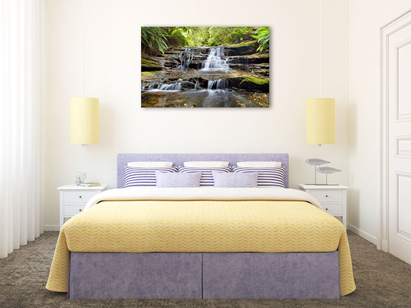 Blue Mountains Art Print Leura Cascades Picture Wall