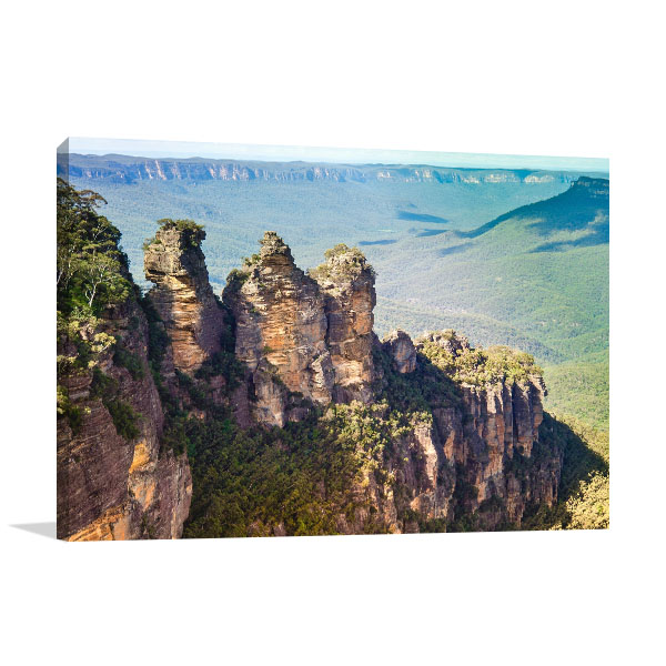 Blue Mountains Wall Art Print Three Sisters Photo Wall