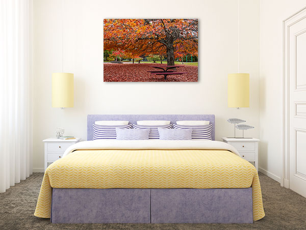 Blue Mountains Wall Print Blackheath Autumn Photo Art