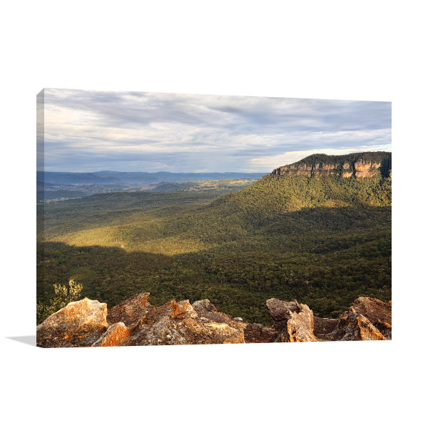 Blue Mountains Wall Print Megalong Valley Art Photo