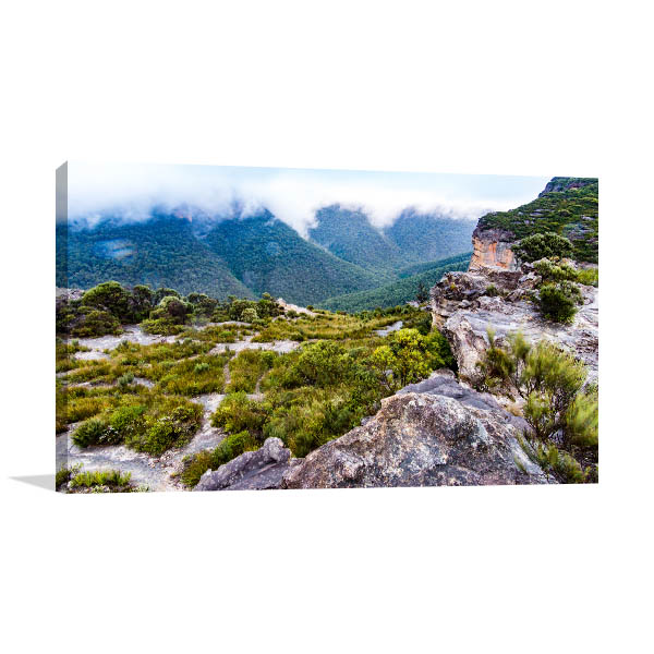 Blue Mountains Wall Print Walls Lookout Artwork Picture