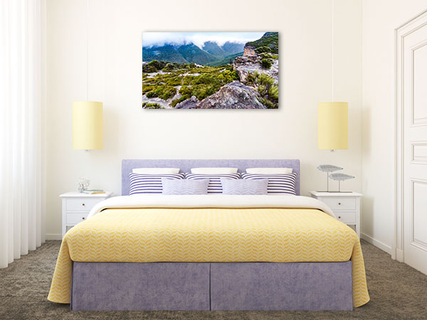 Blue Mountains Wall Print Walls Lookout Photo Canvas
