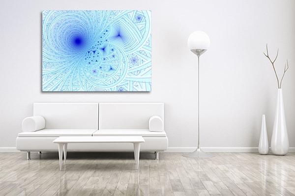 Blue Waves Canvas Prints