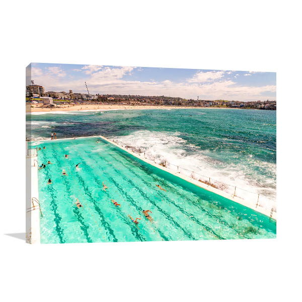 Bondi Beach Art Print Sydney Photo Canvas