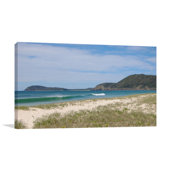 Booti National Park Art Print Seven Mile Beach Wall Artwork