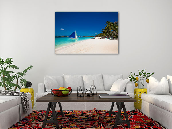 Boracay Island Picture Canvas