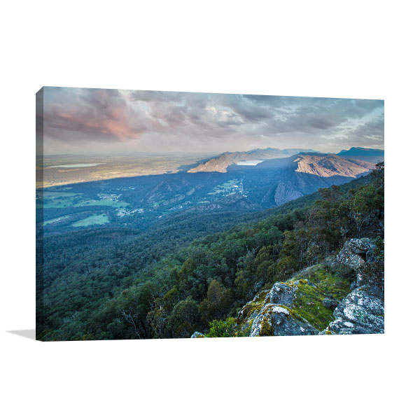 Boroka Lookout Art Print Grampians Artwork Photo