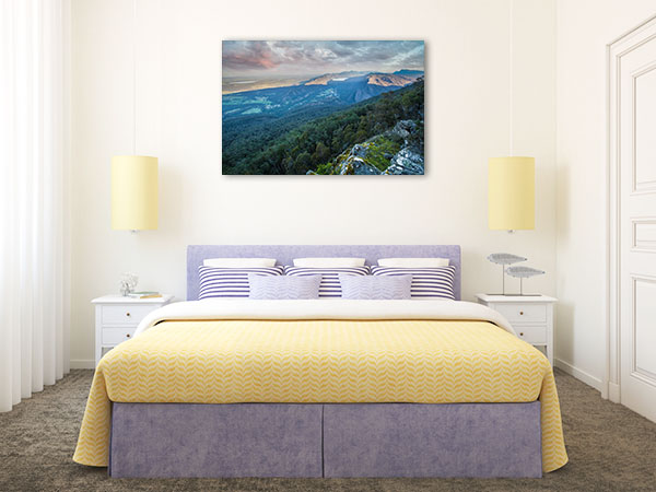Boroka Lookout Art Print Grampians Artwork Wall