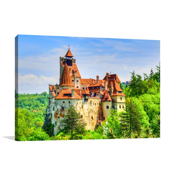 Bran Castle Picture Art