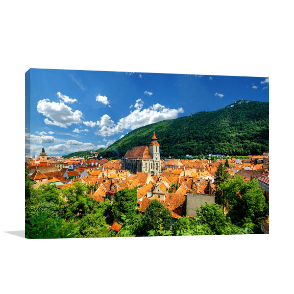 Brasov Art Print Castle Wall Picture