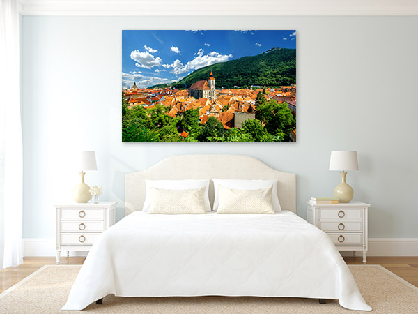 Brasov Art Print Castle Wall Artwork