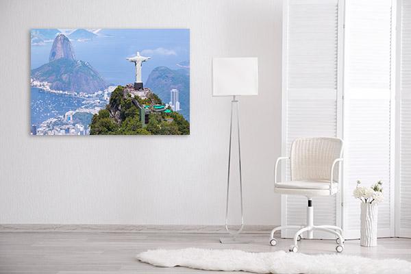 Brazil Art Print Christ the Redeemer Artwork Photo