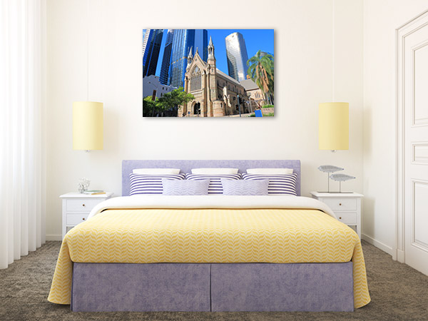 Brisbane Art Print St Stephens Cathedral Canvas Wall