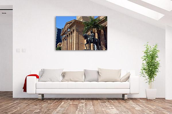 Brisbane Wall Print City Hall QLD Art Photo