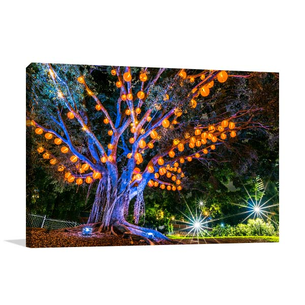 Brisbane Wall Print Roma Street Parkland Artwork Canvas